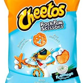 Cheetos Rock, Paw, Scissors Fromage Flavored